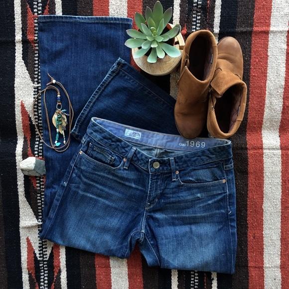 6bde33d8751bd GAP Denim - GAP women's 1969 sexy boot cut jeans 8/29
